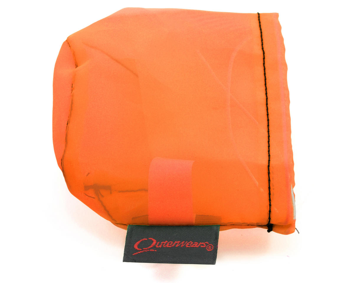Outerwears Performance Pre-Filter Air Filter Cover (2 3/4 Dia. x 2 1/2) (Orange)