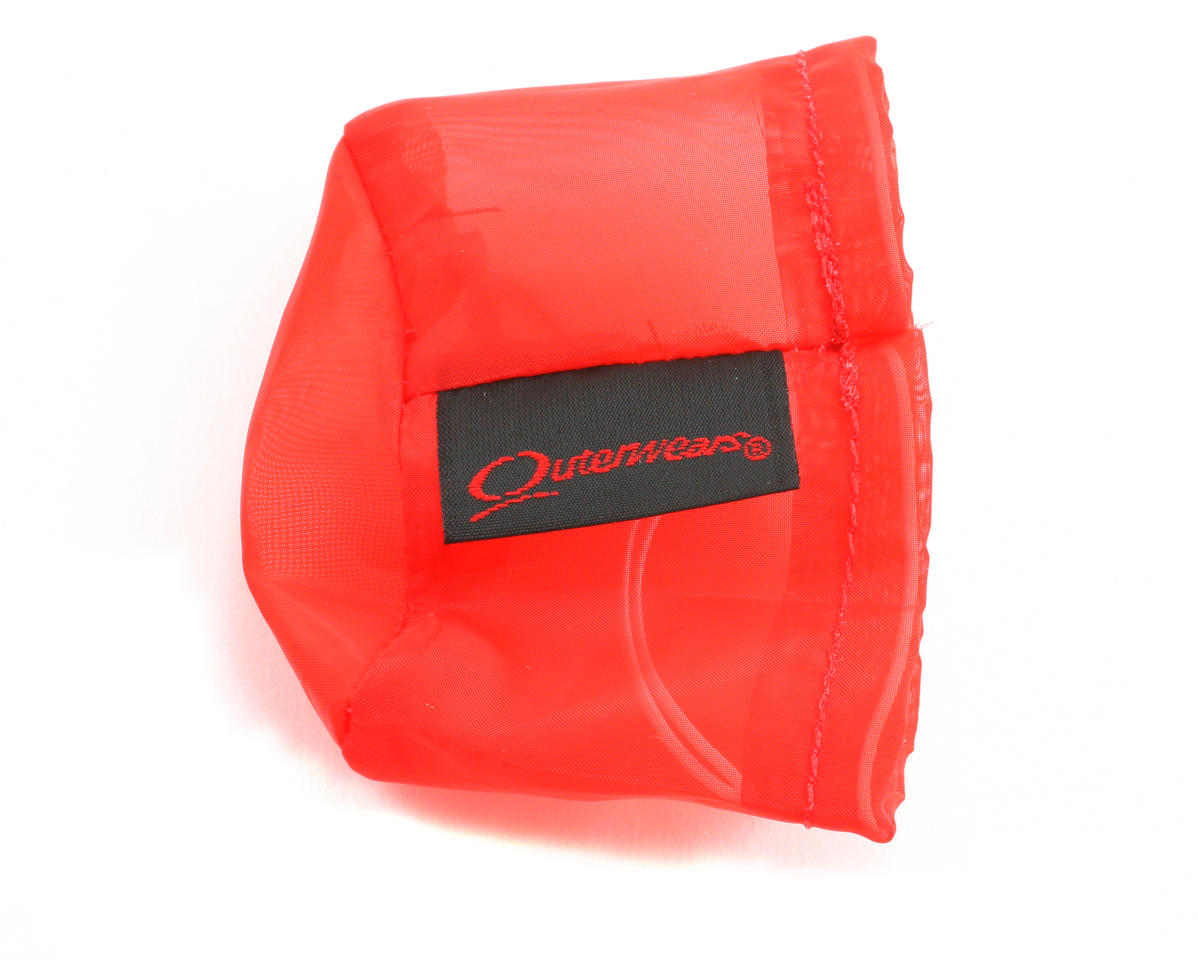 Outerwears Performance Pre-Filter Air Filter Cover (Associated RC8) (Red)