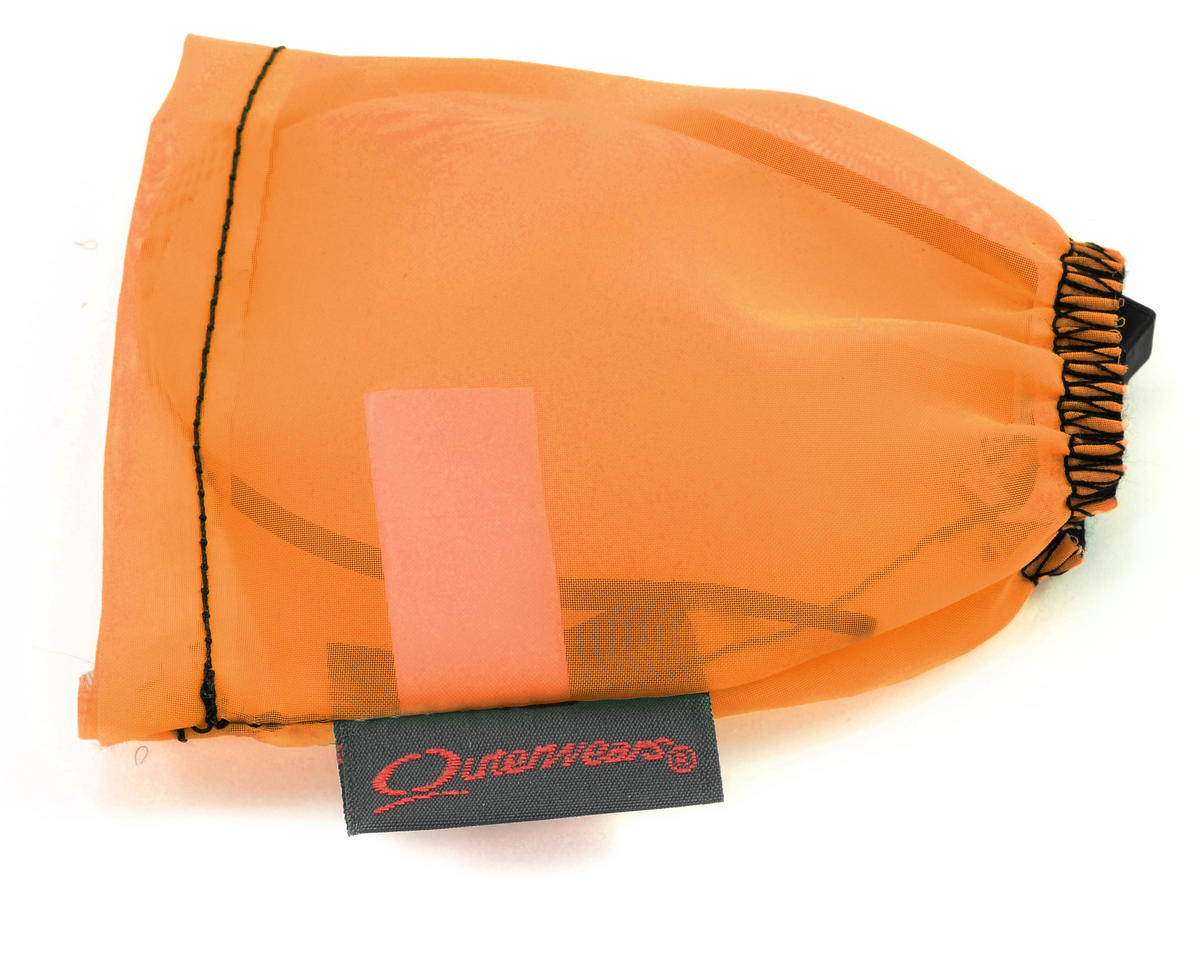 Outerwears Performance Electric Motor Pre-Filter (1 1/8 x 2 3/4 to 1 1/4 Tall) (Orange)