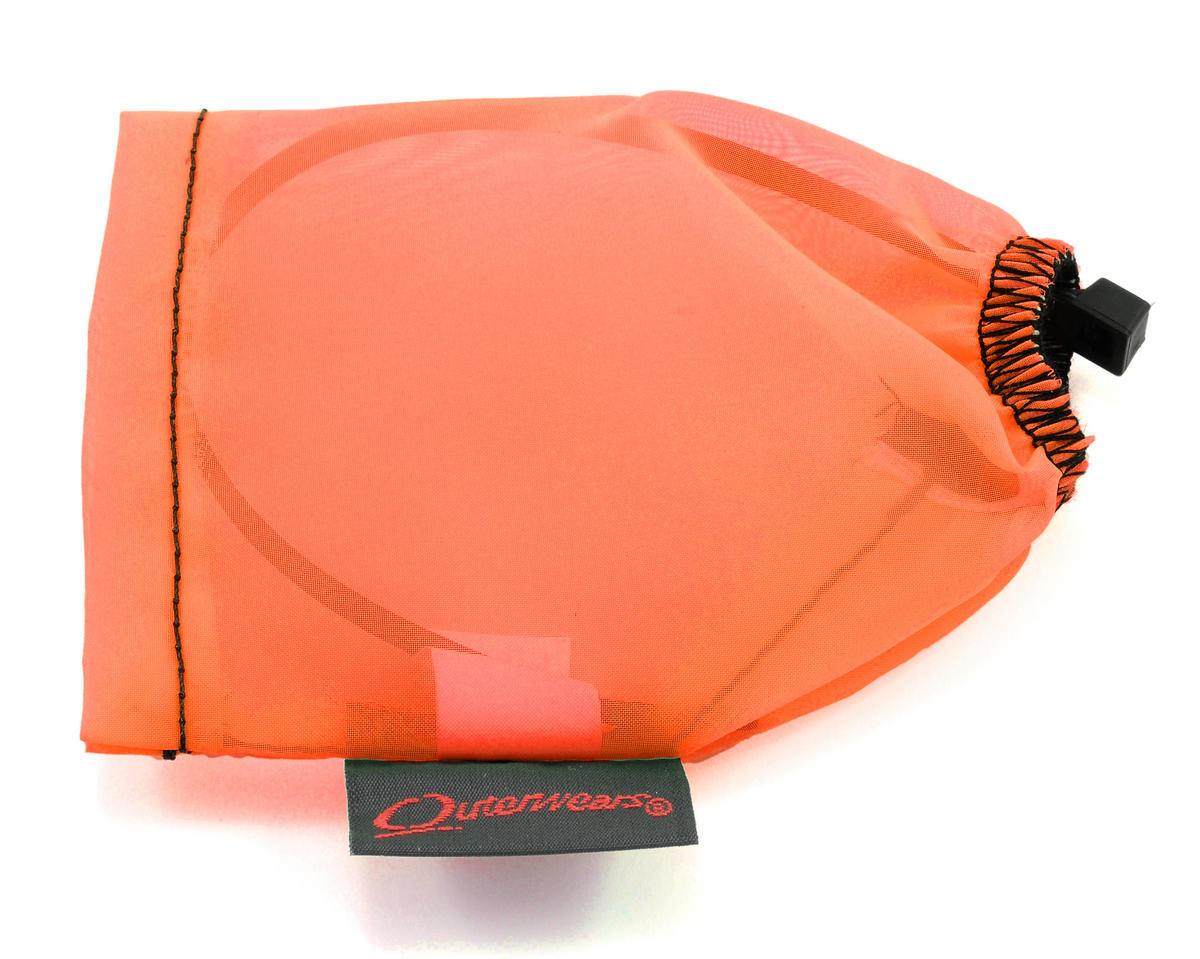 Outerwears Performance Electric Motor Pre-Filter (2 3/4 - 2 5/8 Dia. x 3 5/8 - 4 Tall) (Orange)