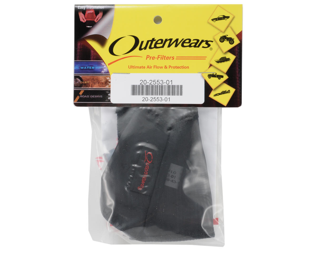 Outerwears Performance Crankcase/Flywheel Cover w/Hook & Loop (Black)