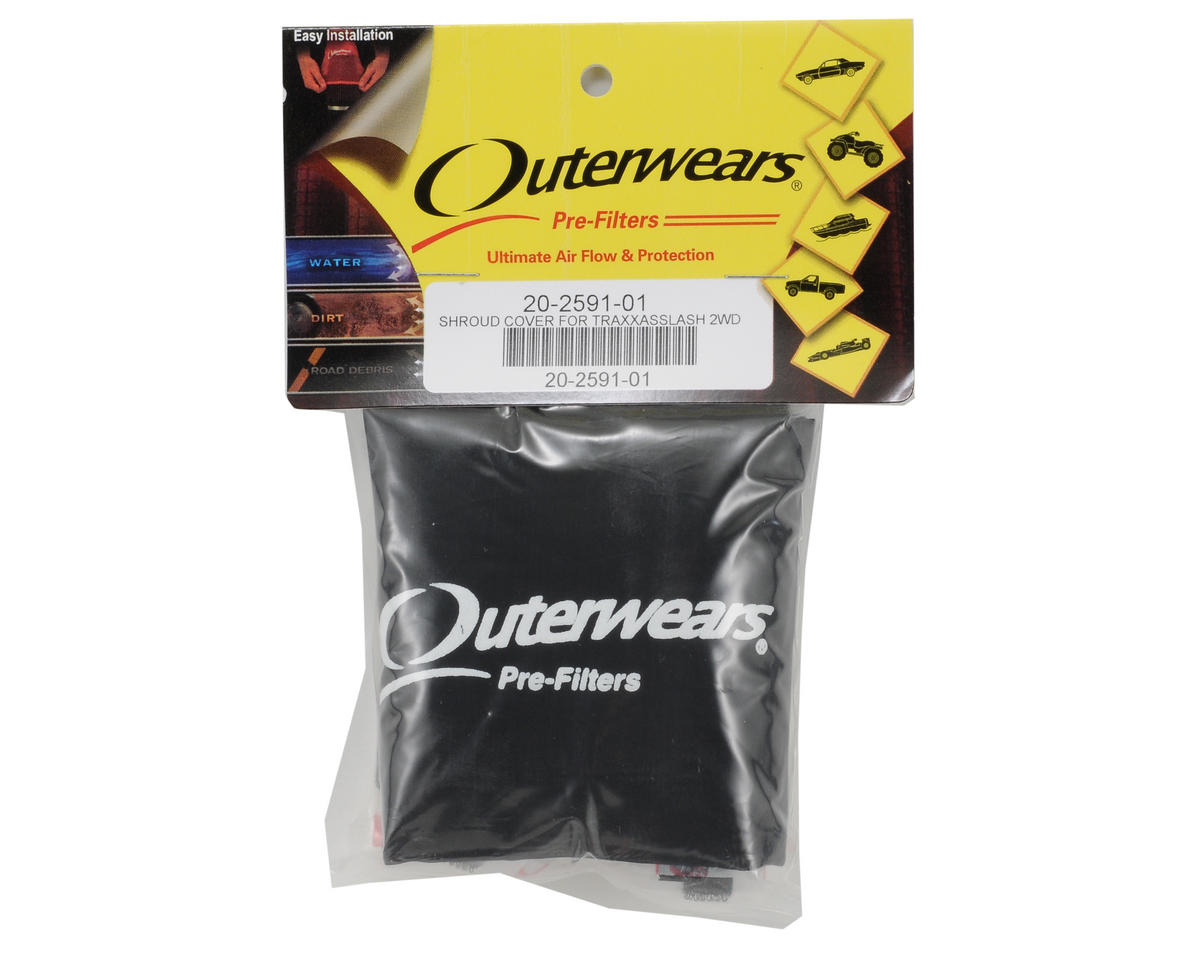 Outerwears Performance Short Course Truck Shrouds (Slash) (Black)