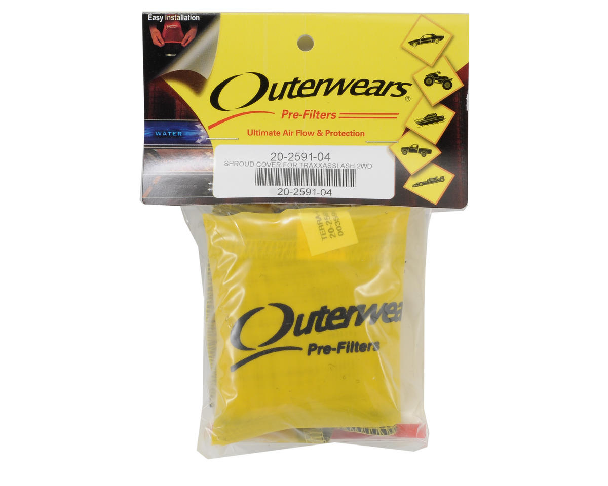 Outerwears Performance Short Course Truck Shrouds (Slash) (Yellow)