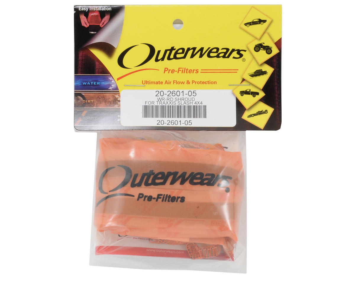 Outerwears Performance Short Course Truck Shroud (Slash 4x4) (Orange)
