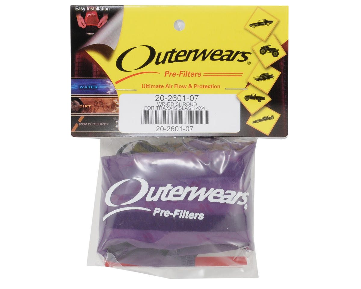 Outerwears Performance Short Course Truck Shroud (Slash 4x4) (Purple)