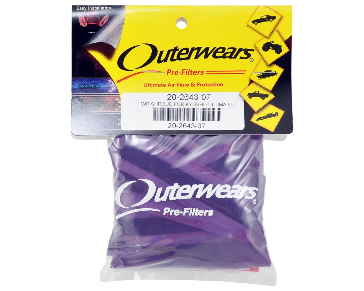 Outerwears Performance Short Course Truck Shroud (Ultima SC) (Purple)