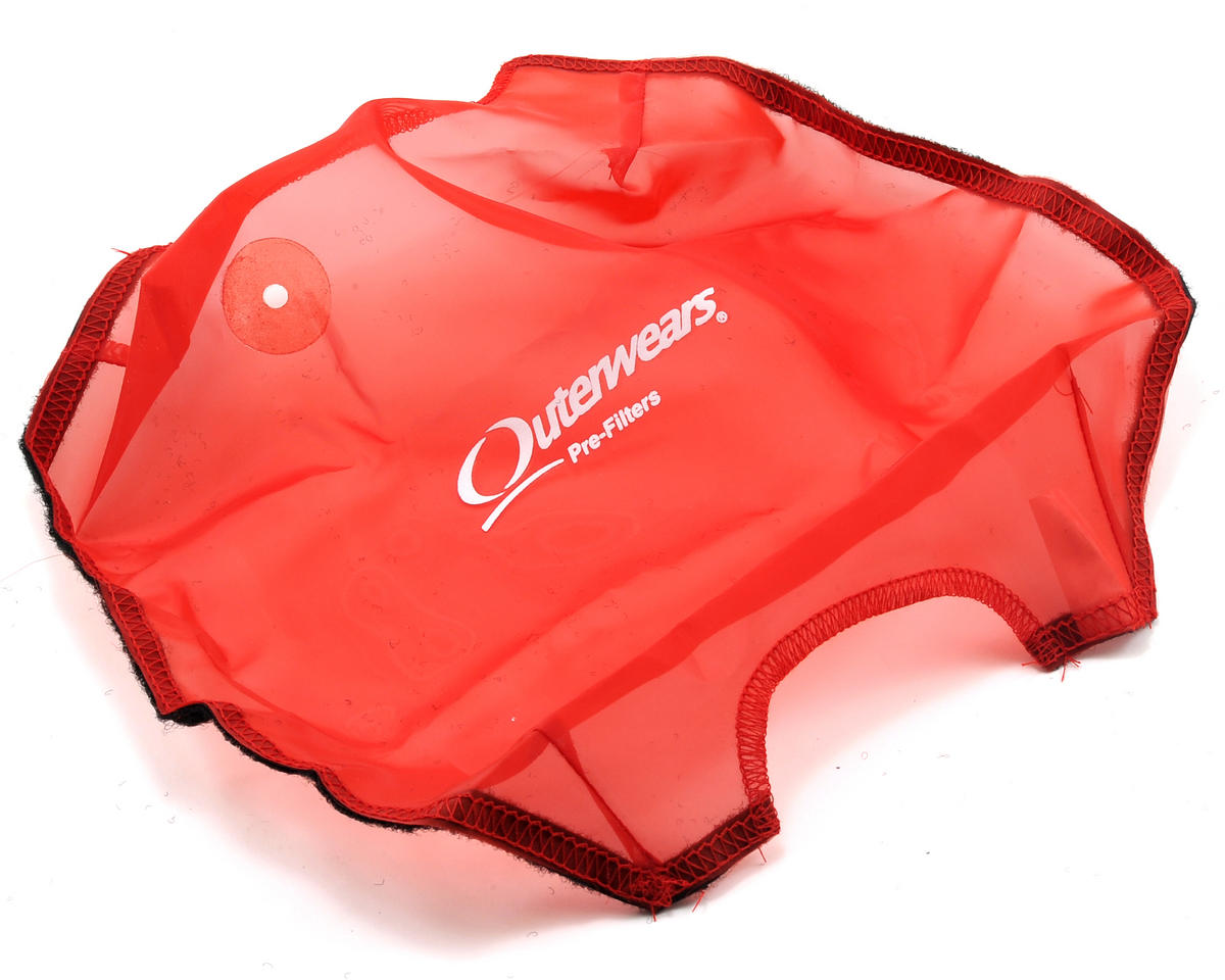 Performance Truck Shroud (E Revo) (Red) by Outerwears