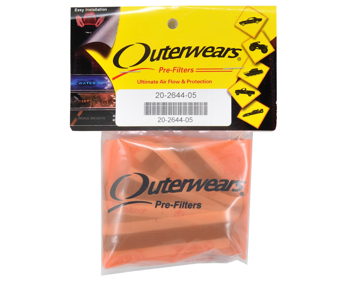 Outerwears Performance Truck Shroud (E Revo) (Orange)