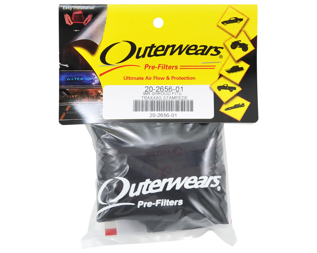 Outerwears Performance Truck Shroud (Stampede 4x4) (Black)