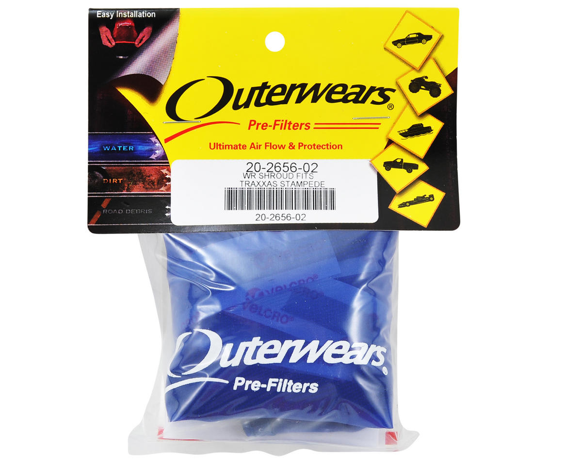 Outerwears Performance Truck Shroud (Stampede 4x4) (Blue)
