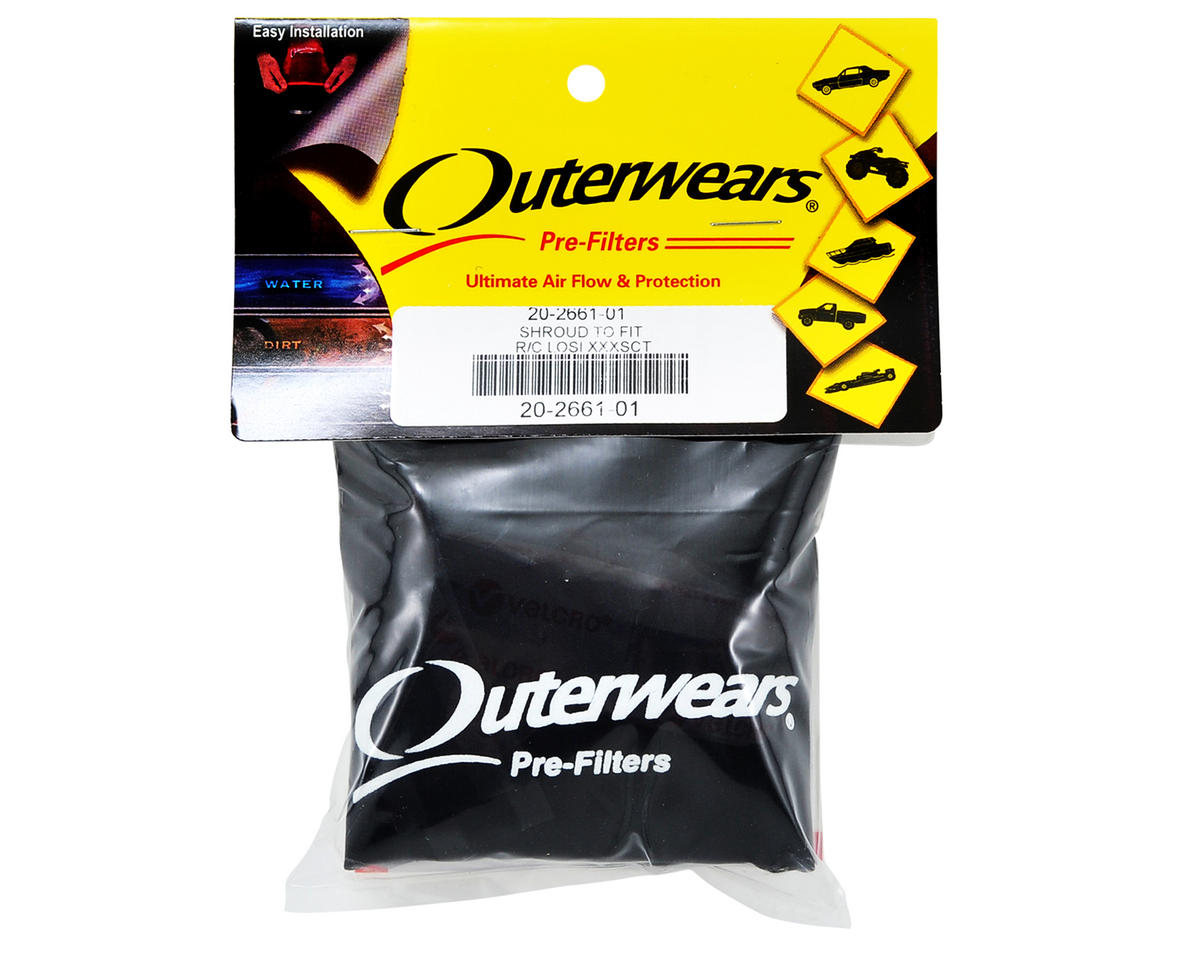 Performance Short Course Truck Shroud (XXX-SCT) (Black) by Outerwears