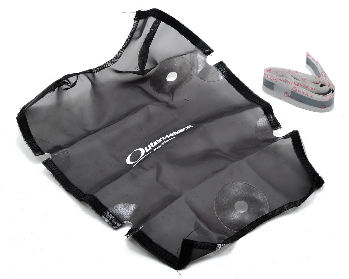 Performance Short Course Truck Shroud (SC10 4x4) (Black) by Outerwears