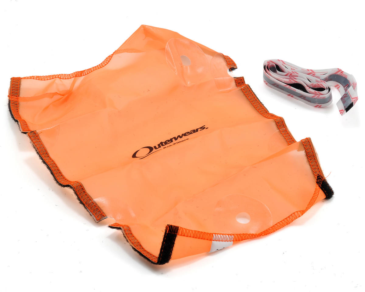 Outerwears Performance Short Course Truck Shroud (SC10 4x4) (Orange)