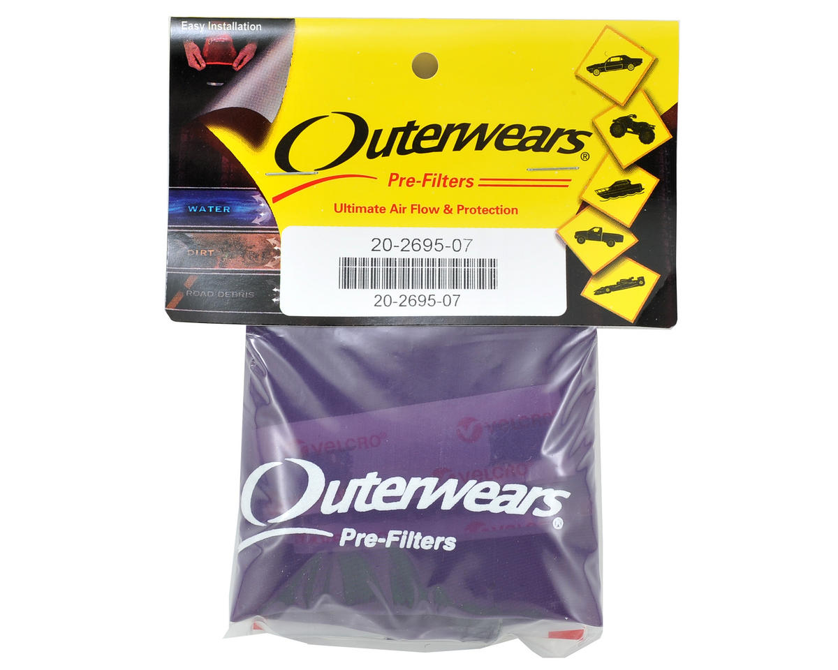 Outerwears Performance Short Course Truck Shroud (SC10 4x4) (Purple)