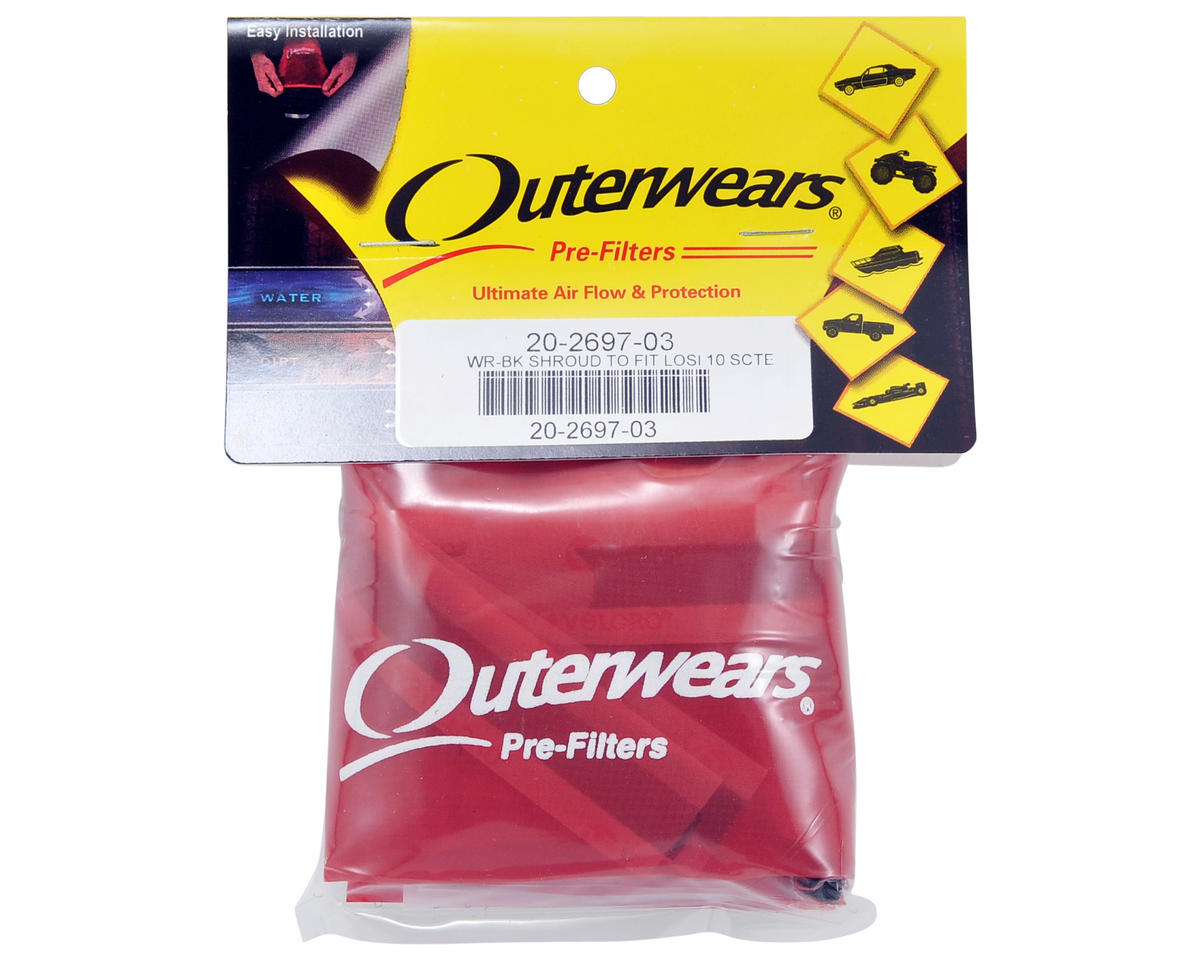 Outerwears Performance Short Course Truck Shroud (TEN-SCTE) (Red)