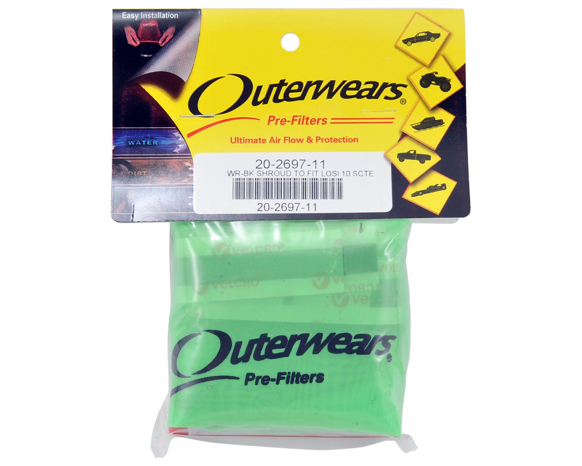 Performance Short Course Truck Shroud (TEN-SCTE) (Lime Green) by Outerwears