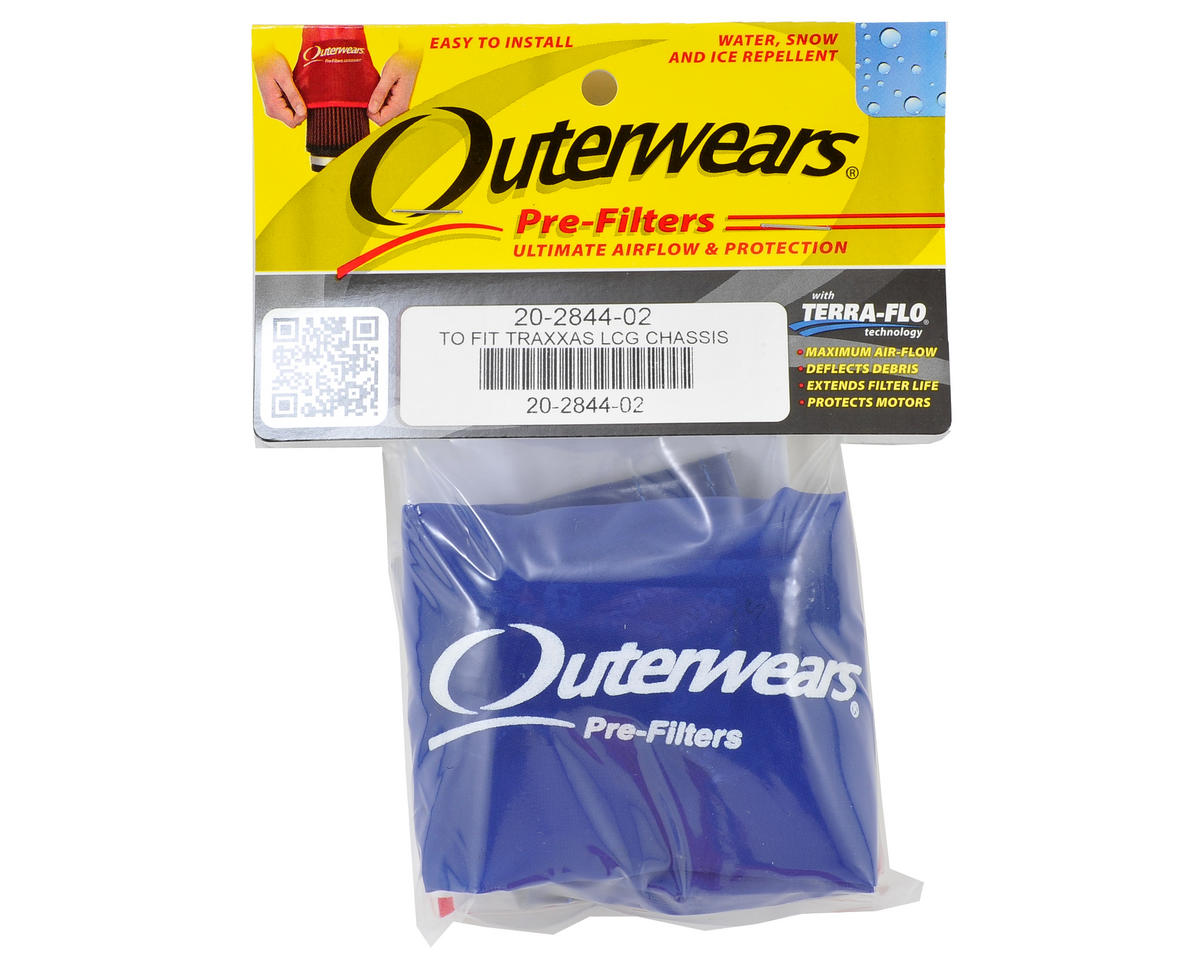 Outerwears Performance Short Course Truck Shroud (Slash 4x4 Ultimate) (Blue)