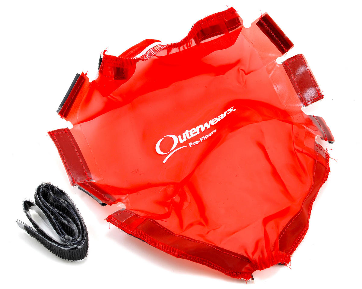 Outerwears Performance Short Course Truck Shroud (Slash 4x4 Ultimate) (Red)
