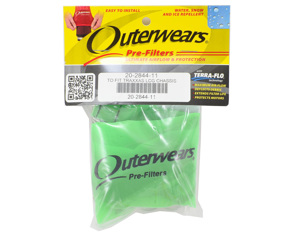 Outerwears Performance Short Course Truck Shroud (Slash 4x4 Ultimate) (Lime)