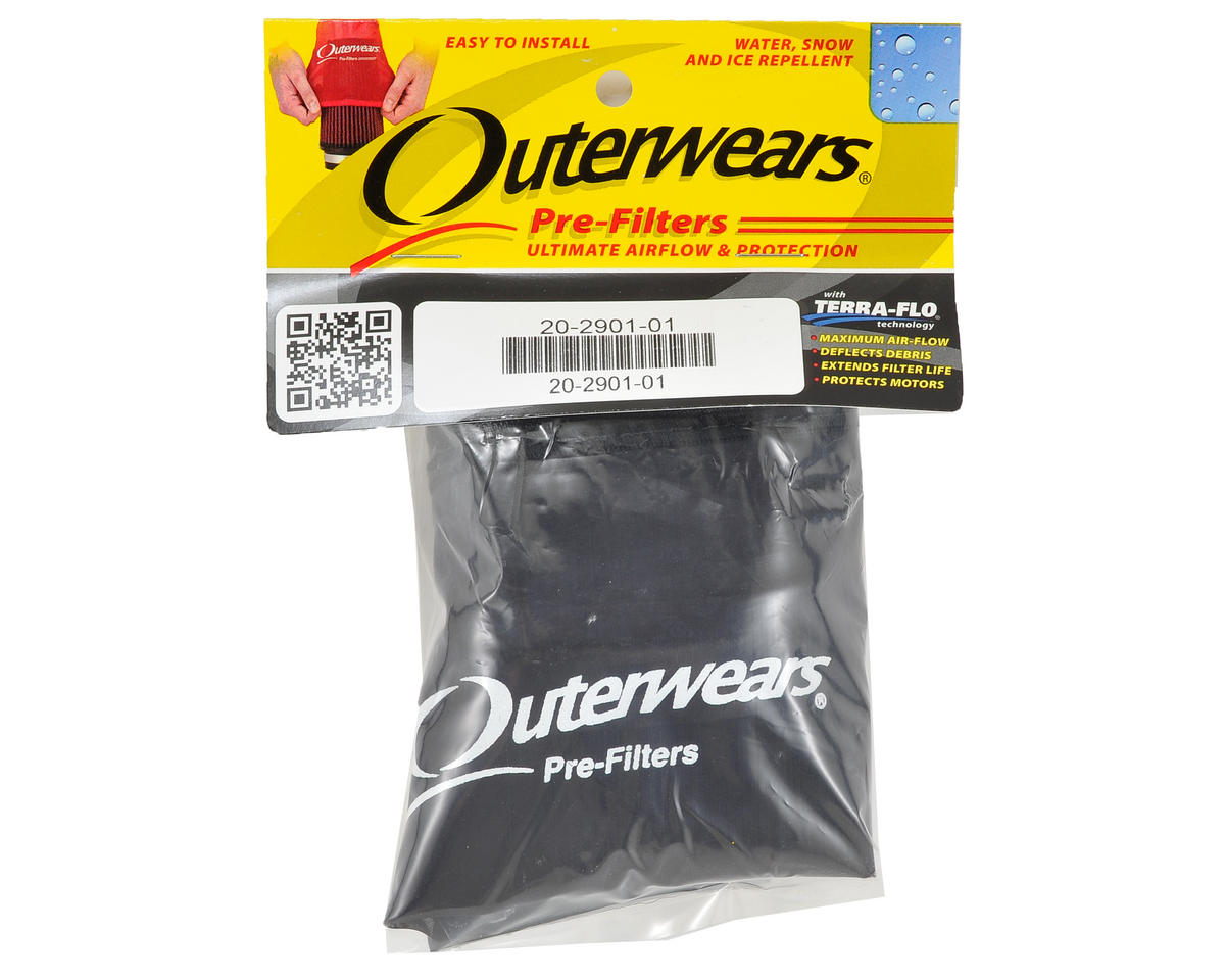 Outerwears Short Course Truck Shroud w/Zipper (Slash 4x4) (Black)