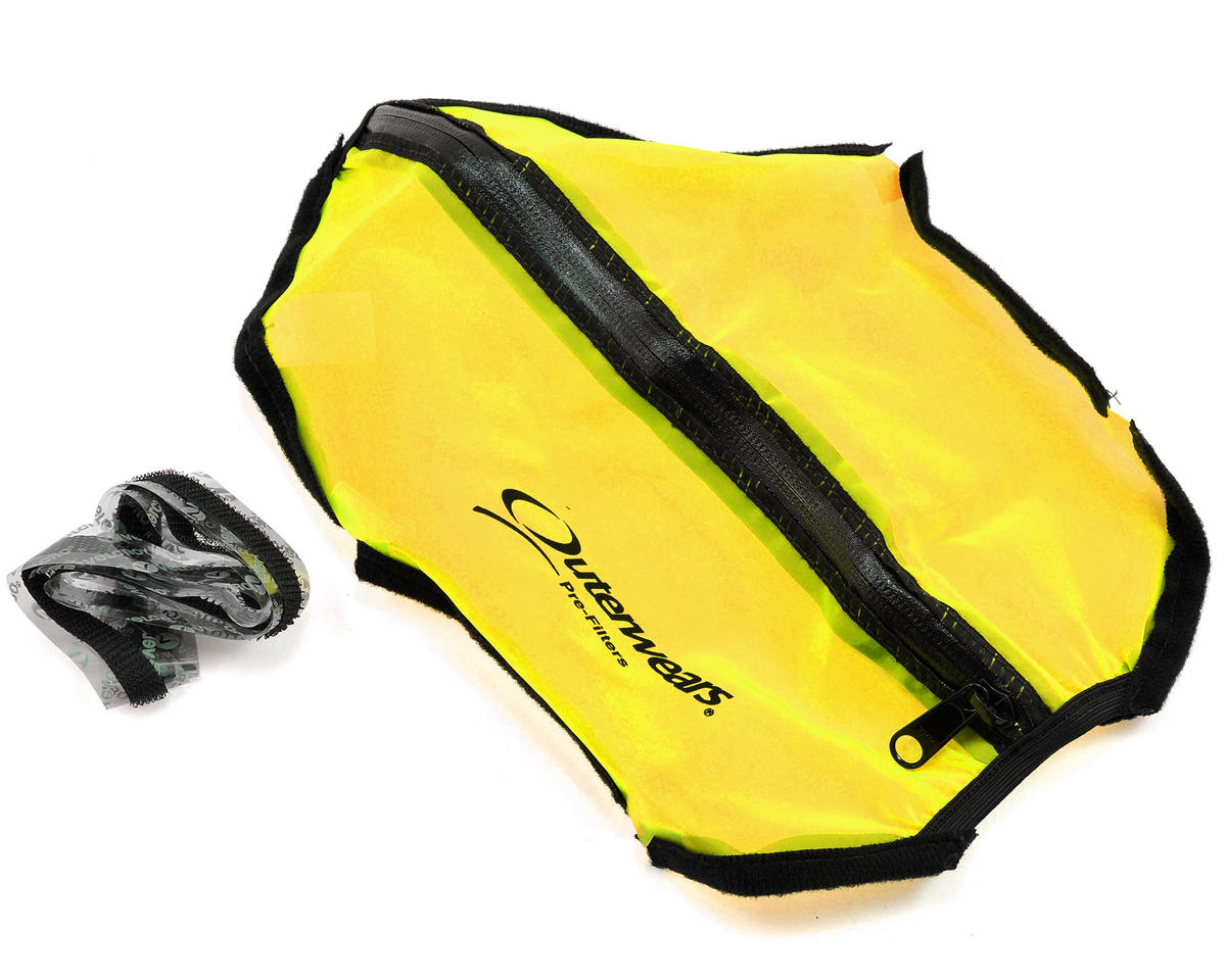 Short Course Truck Shroud w/Zipper (Slash 4x4) (Yellow)