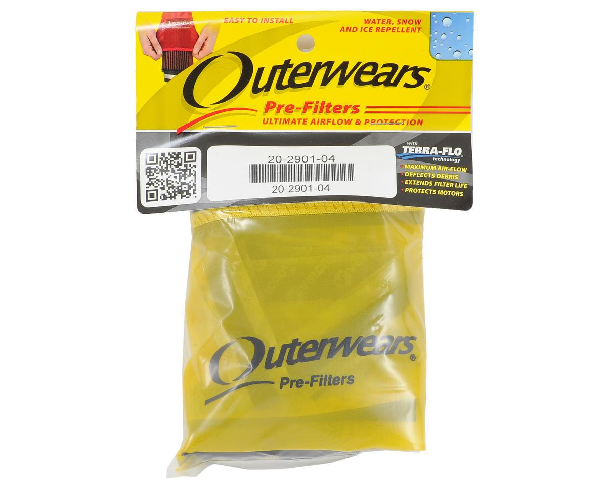 Outerwears Short Course Truck Shroud w/Zipper (Slash 4x4) (Yellow)