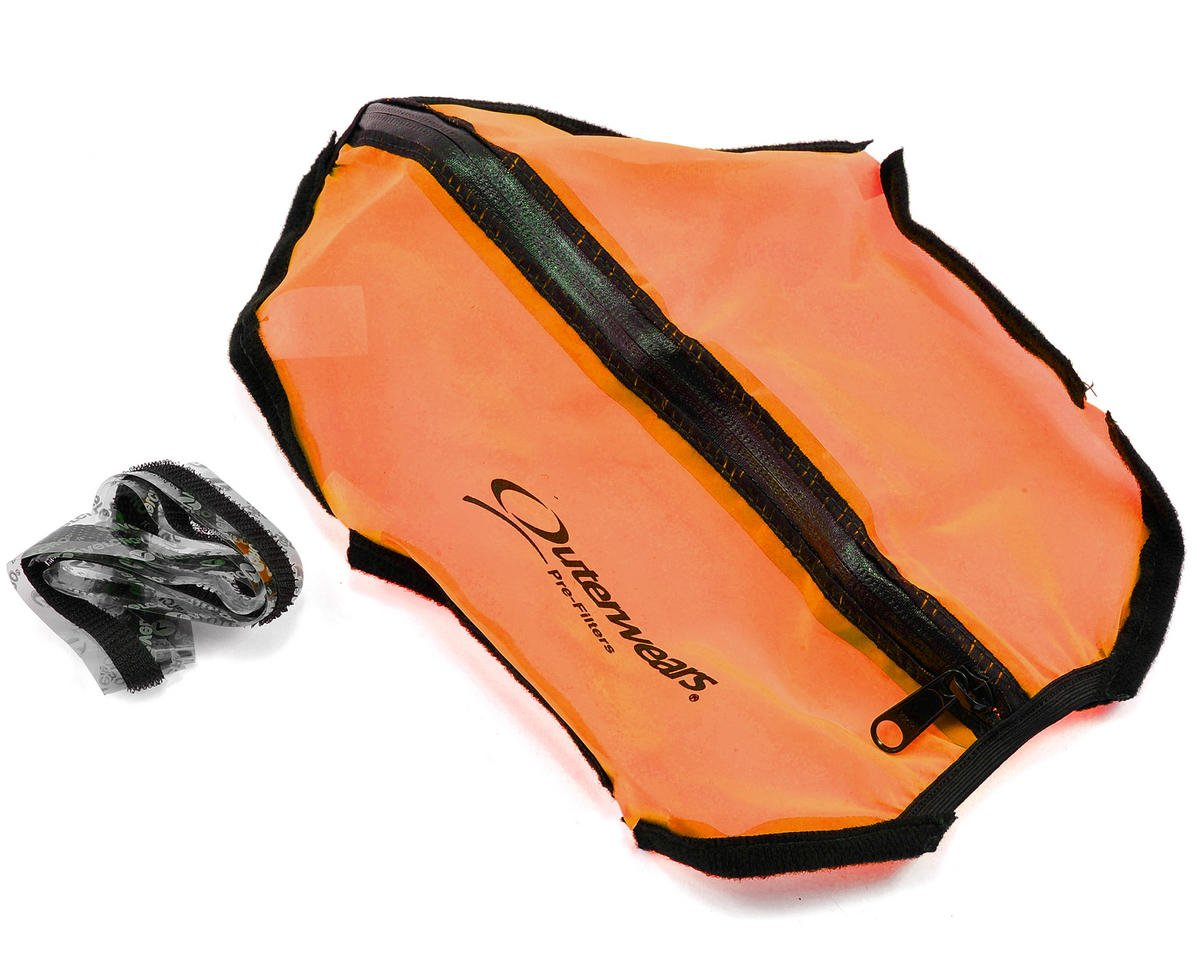 Outerwears Short Course Truck Shroud w/Zipper (Slash 4x4) (Orange)