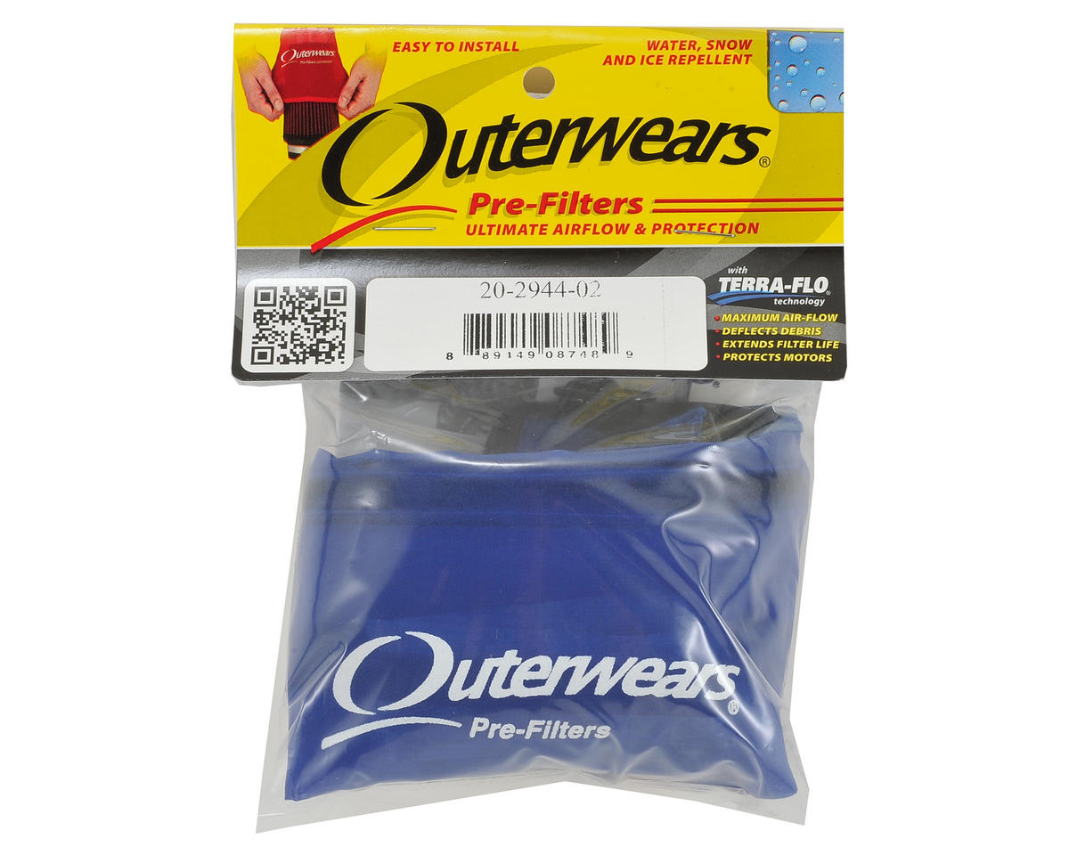 Outerwears Short Course Truck Shroud w/Zipper (Slash 4x4 LCG) (Blue)