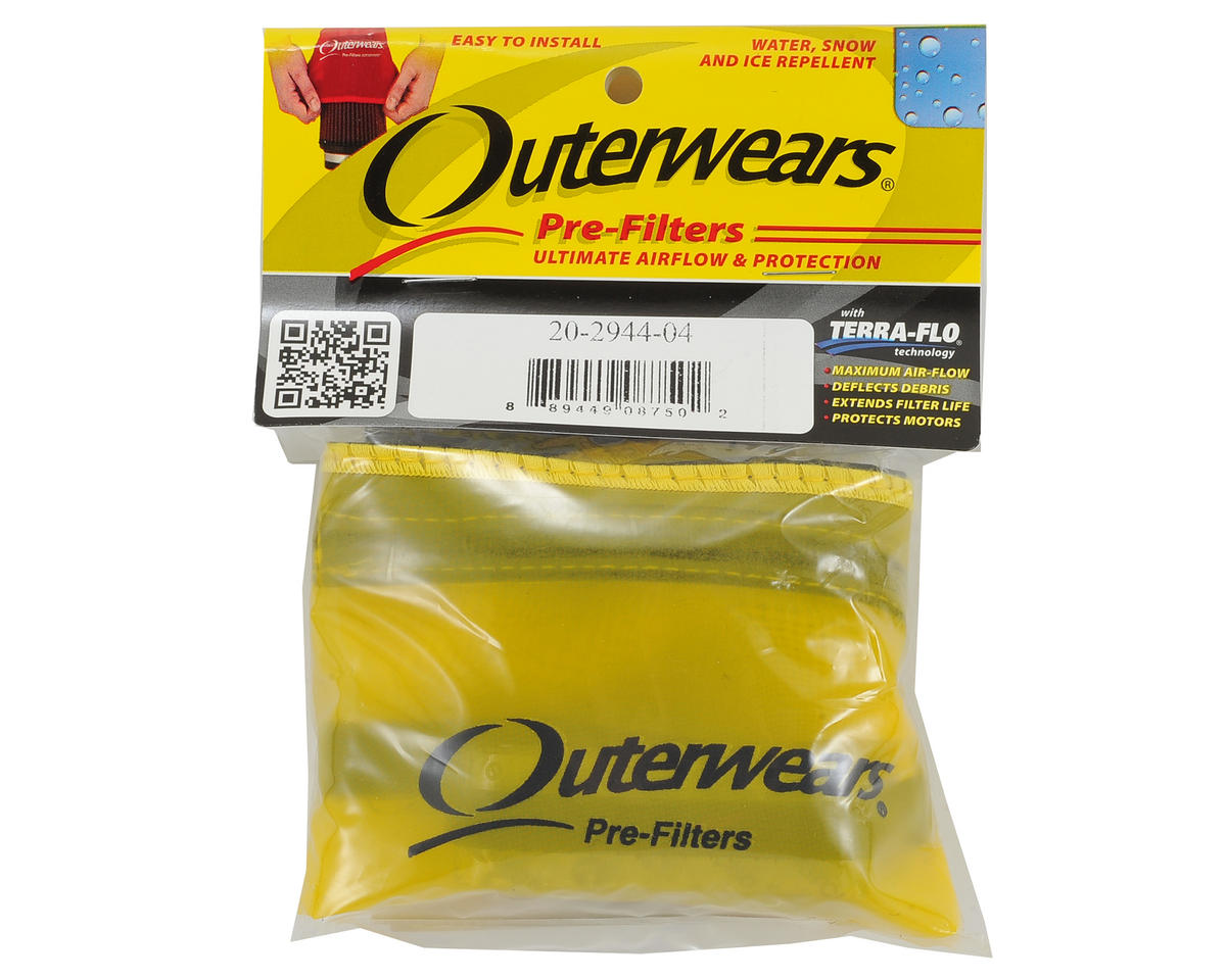 Outerwears Short Course Truck Shroud w/Zipper (Slash 4x4 LCG) (Yellow)