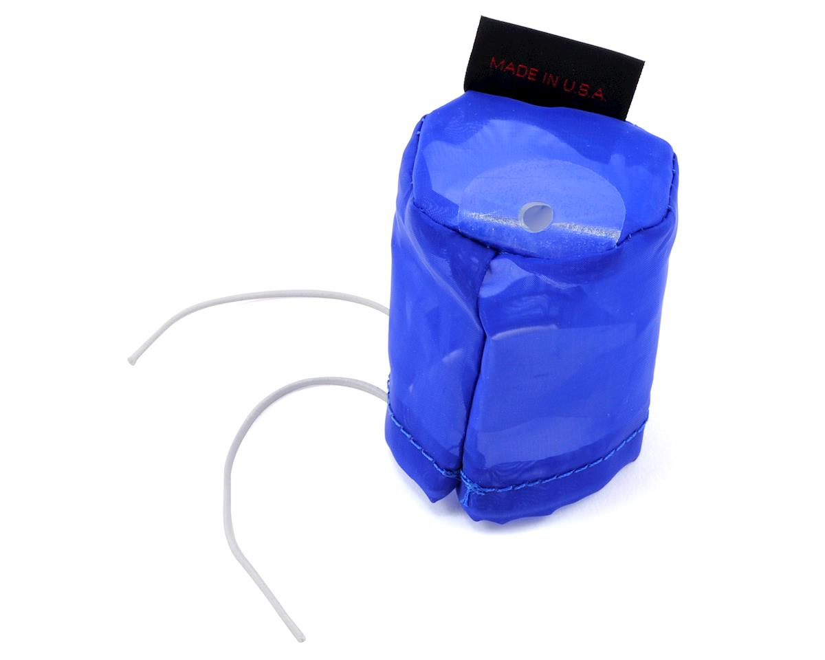 Pre-Filter Air Filter Cover (Kyosho MP9) (Blue) by Outerwears