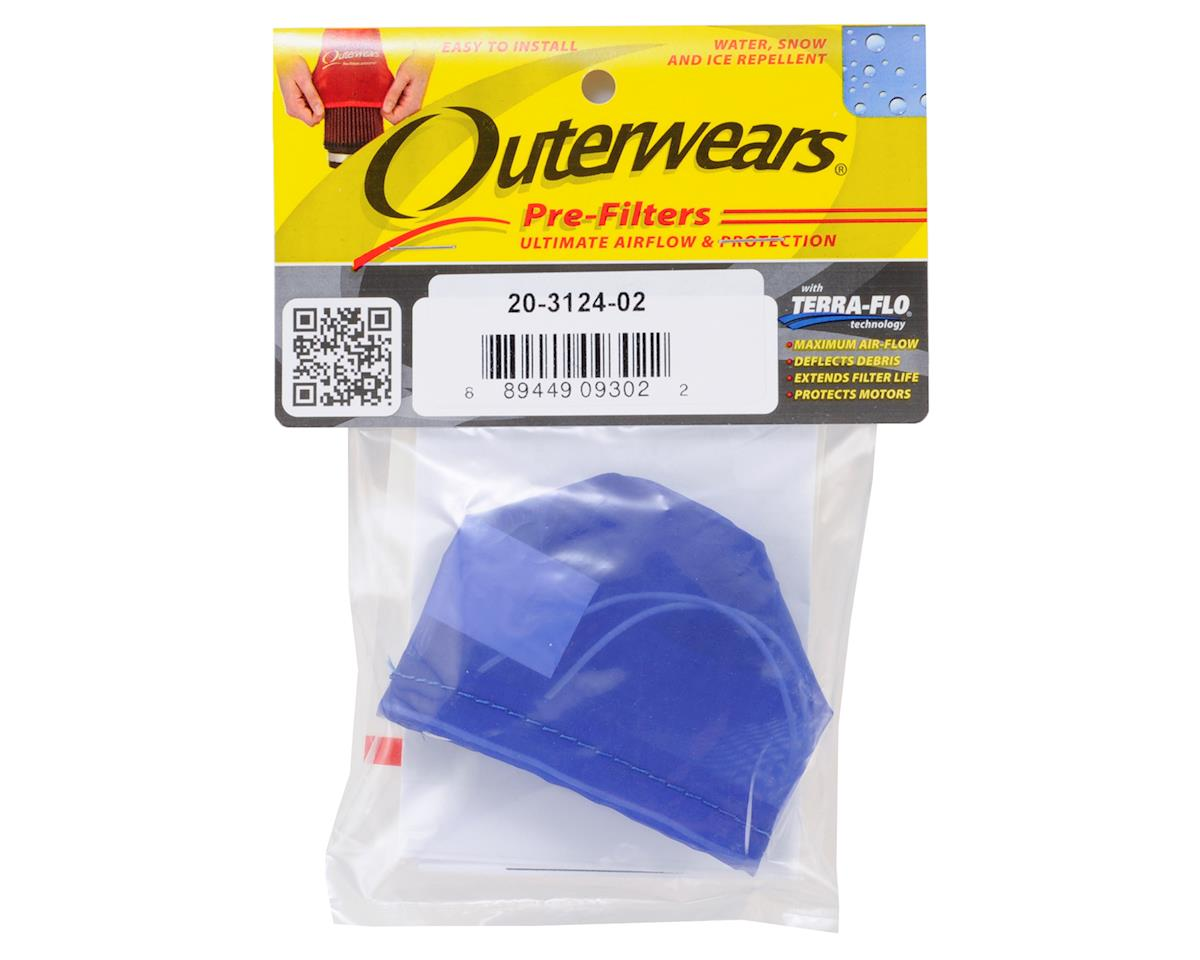 Outerwears Pre-Filter Air Filter Cover (Kyosho MP9) (Blue)
