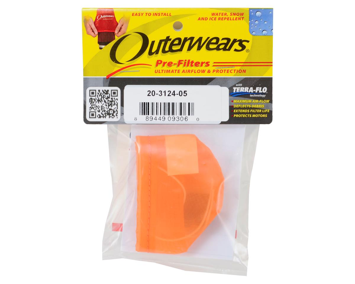 Outerwears Pre-Filter Air Filter Cover (Kyosho MP9) (Orange)