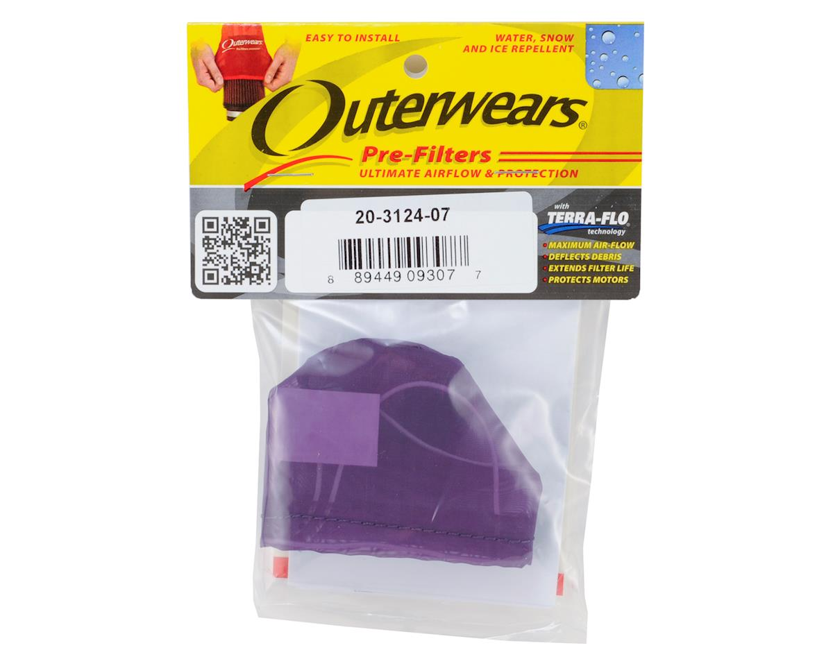 Outerwears Pre-Filter Air Filter Cover (Kyosho MP9) (Purple)