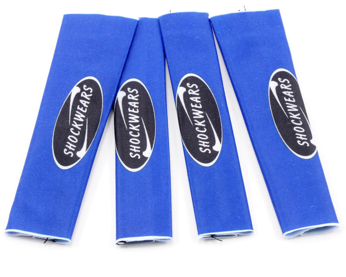 Outerwears Shockwares Evolution Big Bore Shock Covers (4) (Blue)