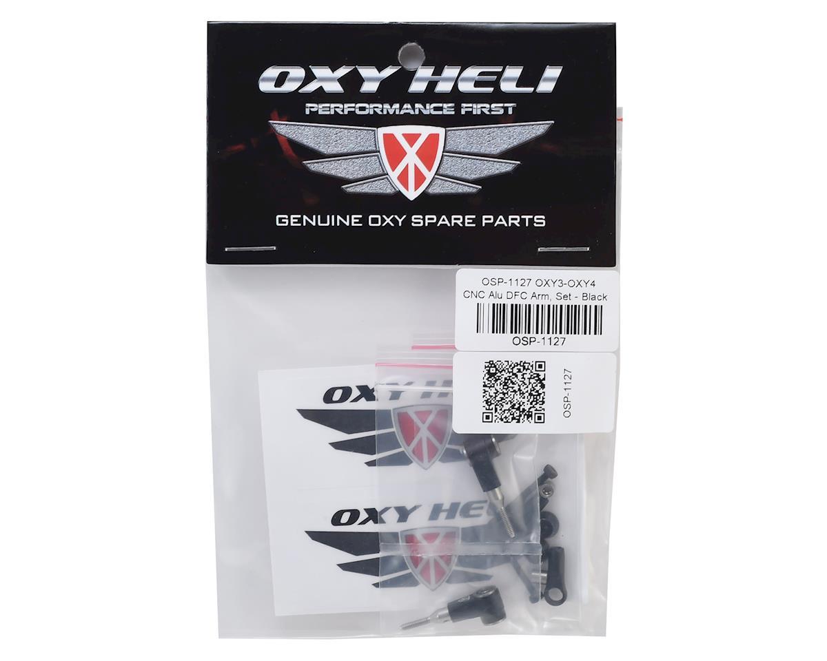OXY Heli Aluminum DFC Arm Set (Black) (Oxy 3 & Oxy 4)