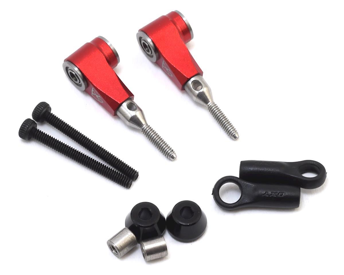 OXY Heli Aluminum DFC Arm Set (Red) (Oxy 3 & Oxy 4)