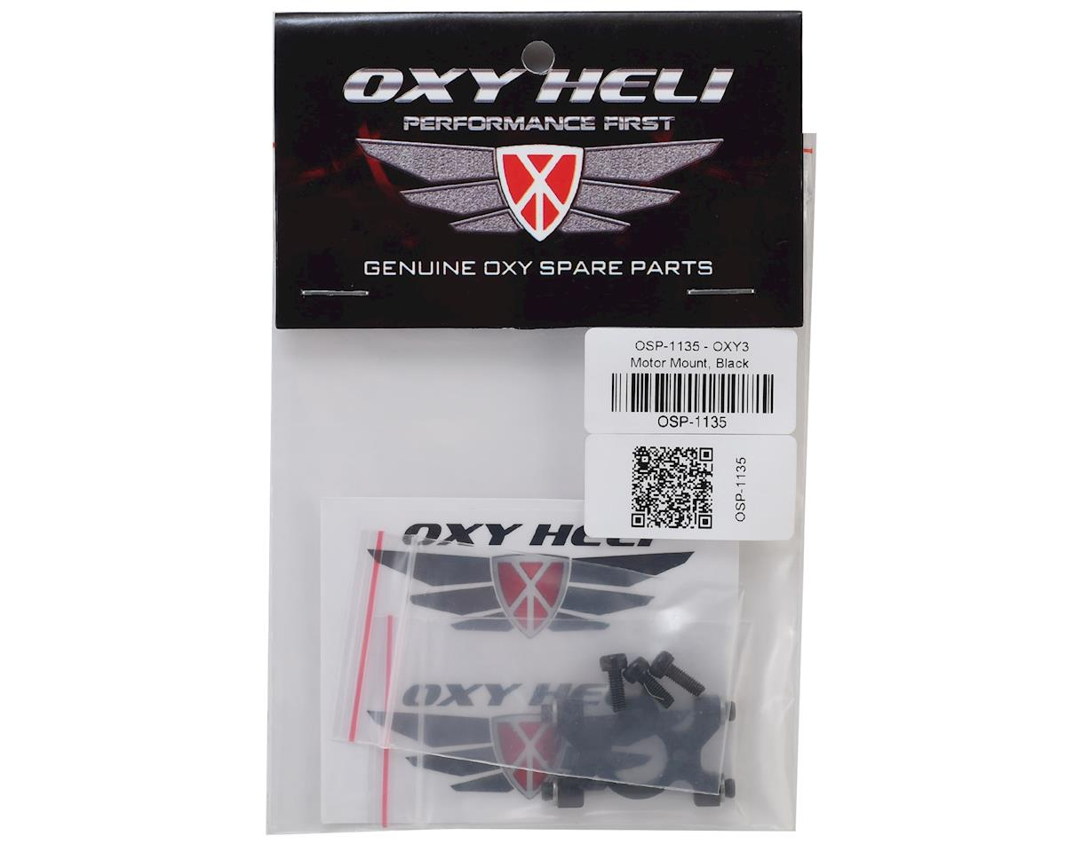 OXY Heli Motor Mount (Black) (Oxy 3)