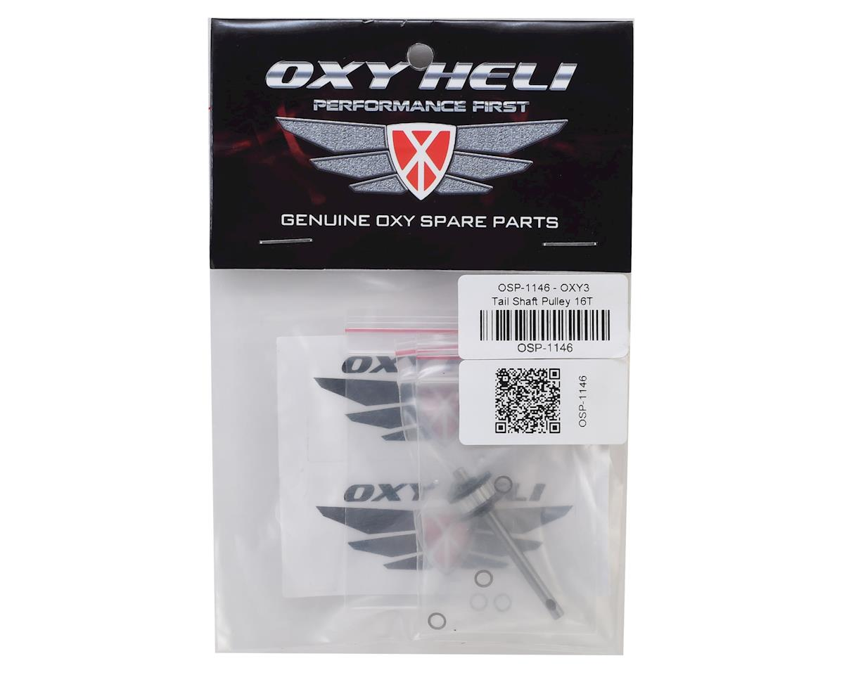 OXY Heli Tail Shaft Pulley 16T (Oxy 3)
