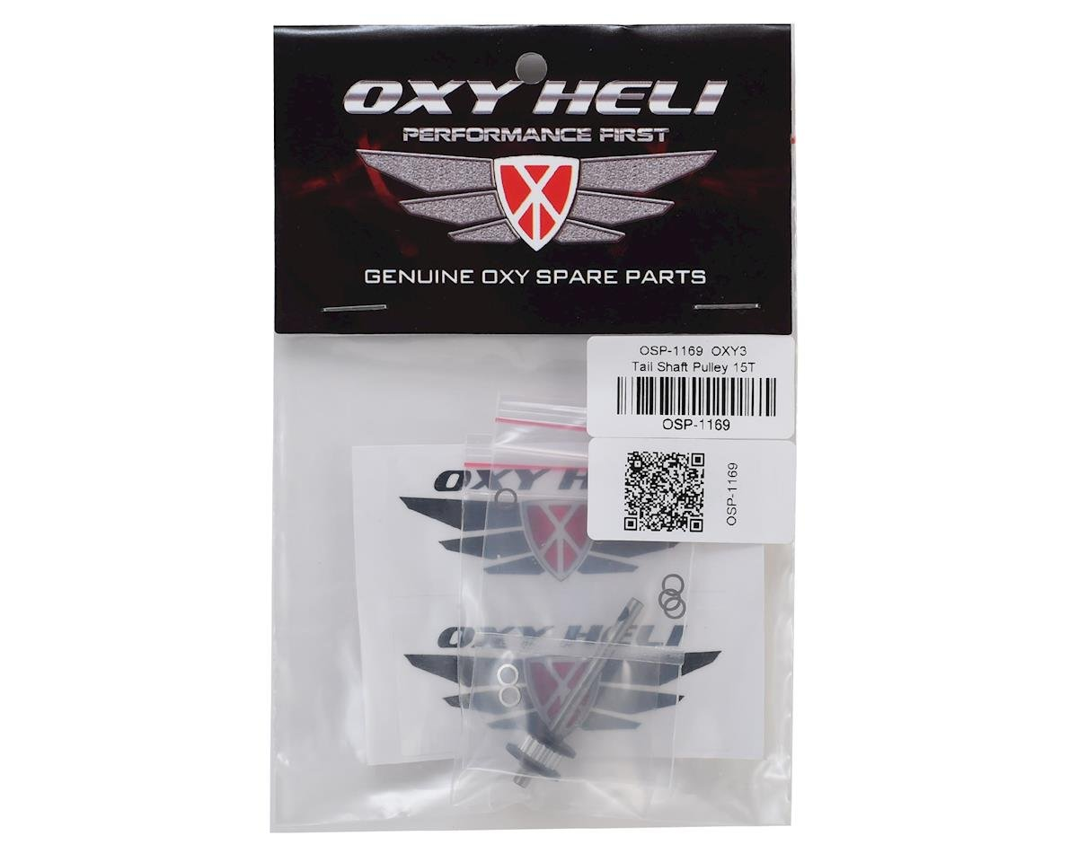 OXY Heli Tail Shaft Pulley 15T (Oxy 3)