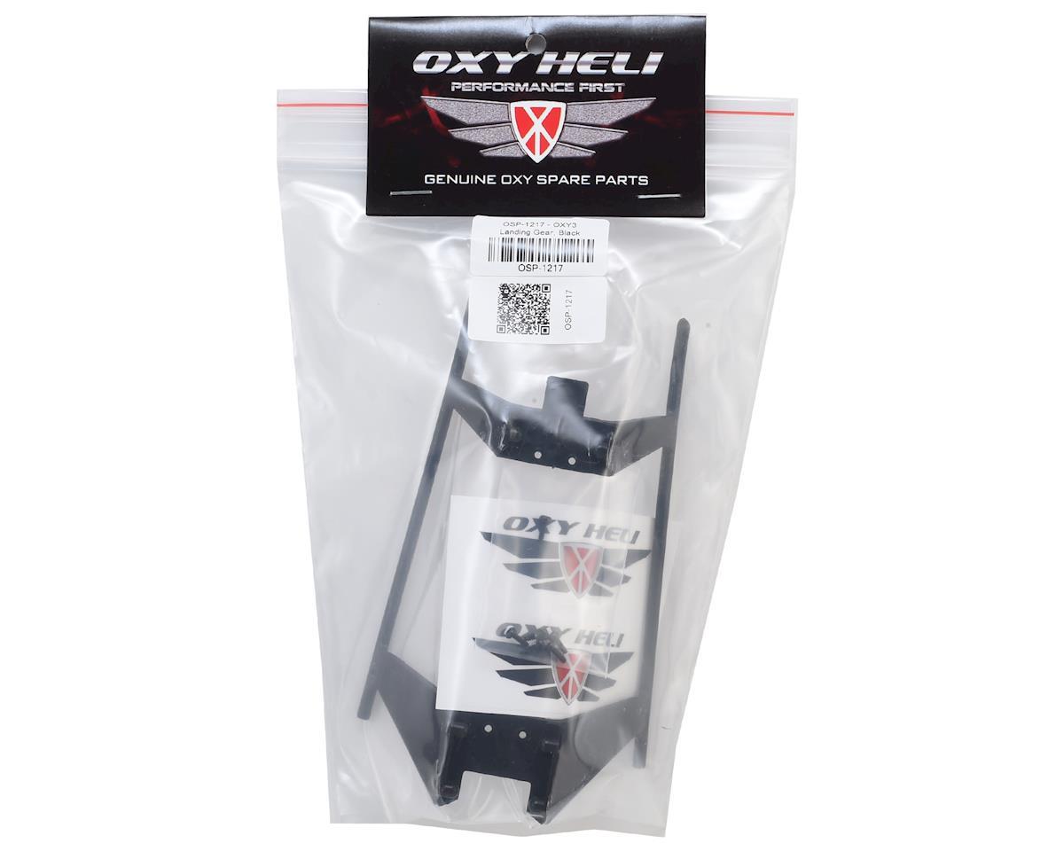 OXY Heli Landing Gear (Black) (Oxy 3)