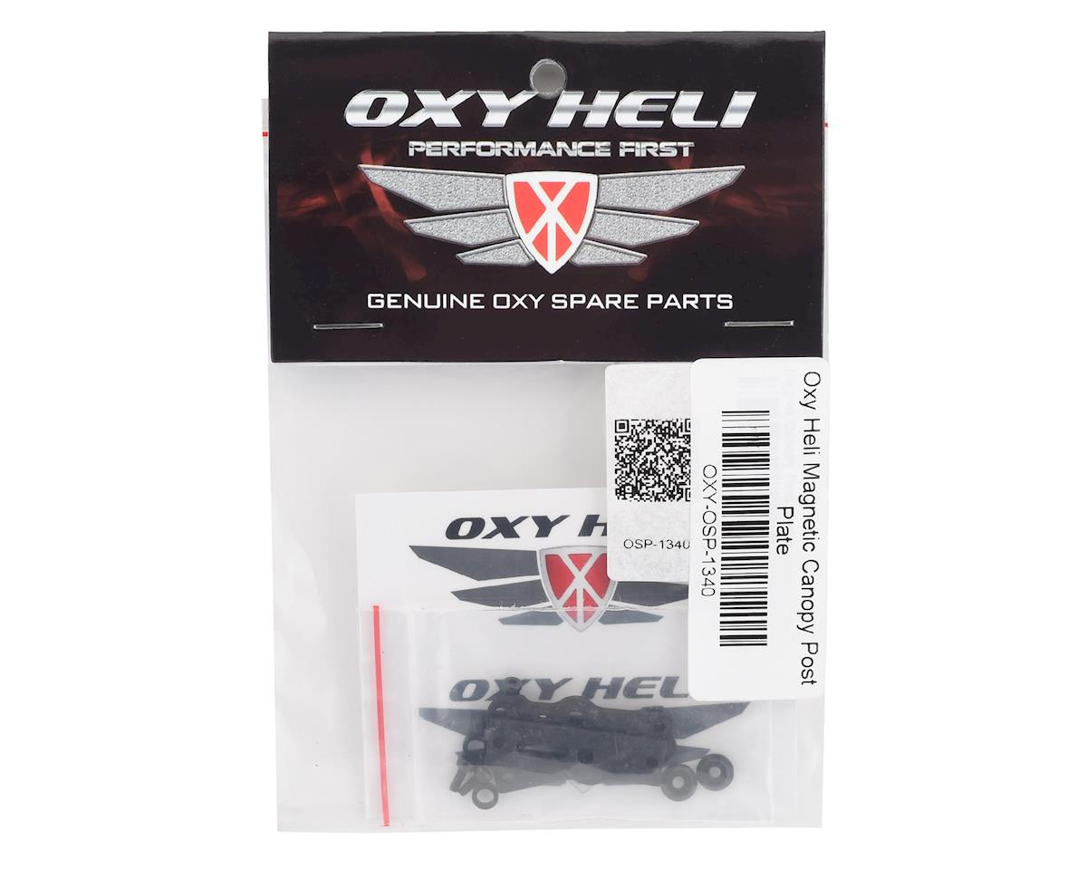 OXY Heli Magnetic Canopy Post Plate