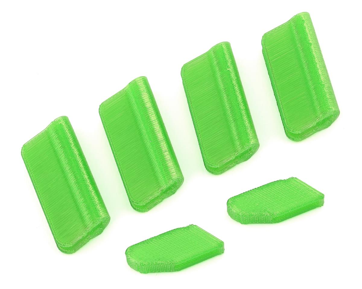 OXY Heli Oxy 5 Landing Gear & Vertical Fin Protection Set (Green)