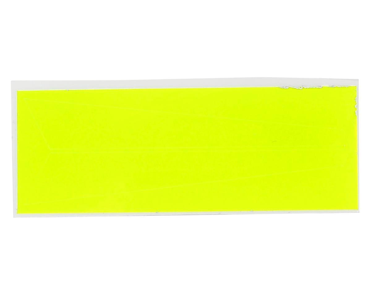 OXY Heli Vertical Fin Sticker (Yellow) (Oxy 2)