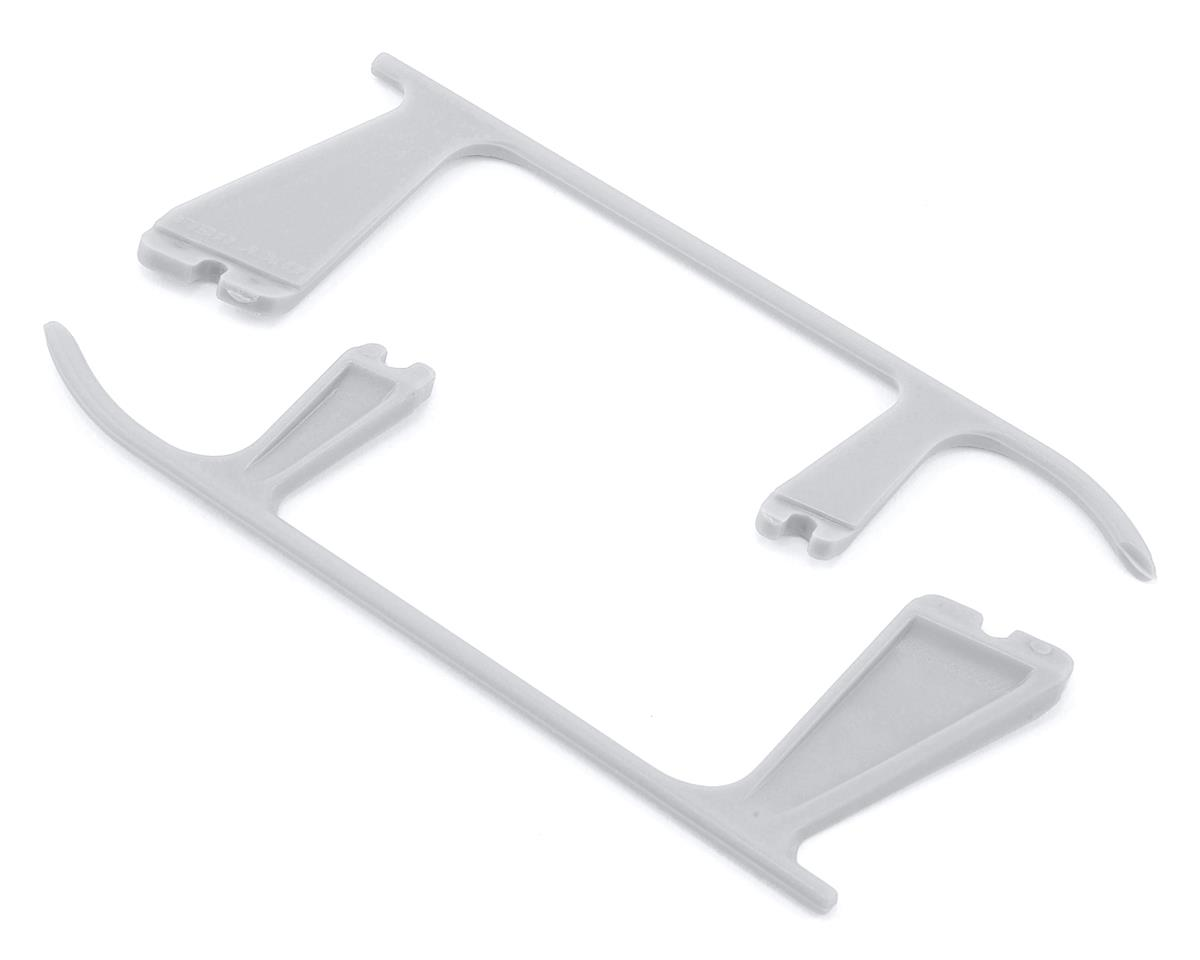 OXY Heli Plastic Landing Gear Skid Left & Right (White)