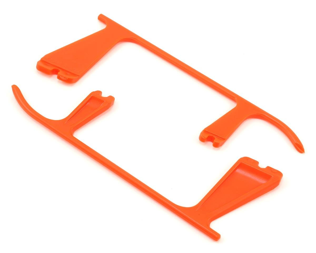 OXY Heli Plastic Landing Gear Skid Left & Right (Orange)