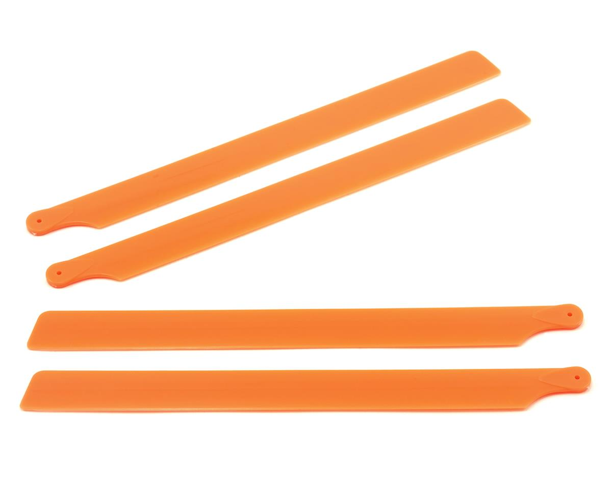 OXY Heli Plastic Main Blade 210mm (Orange) (2) (Oxy 2)
