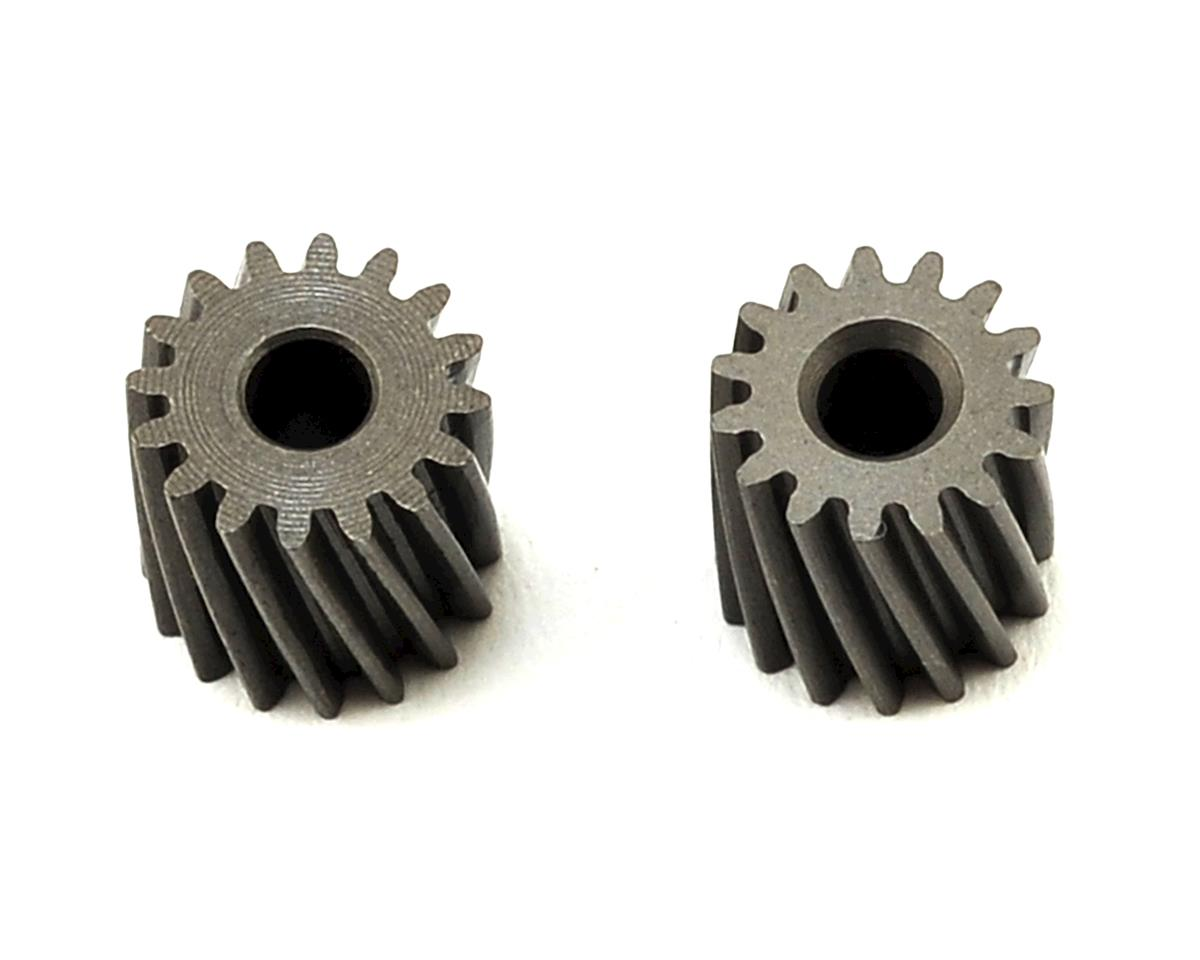 OXY Heli Helical Pinion Set (2.5mm Motor Shaft) (15,16T)