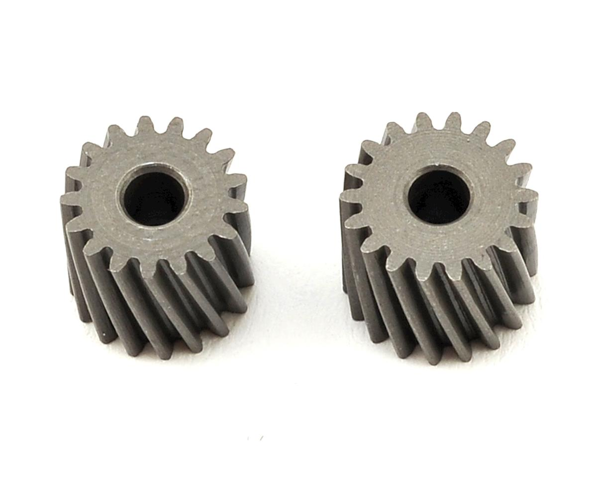 OXY Heli Helical Pinion Set (2.5mm Motor Shaft) (17,18T)