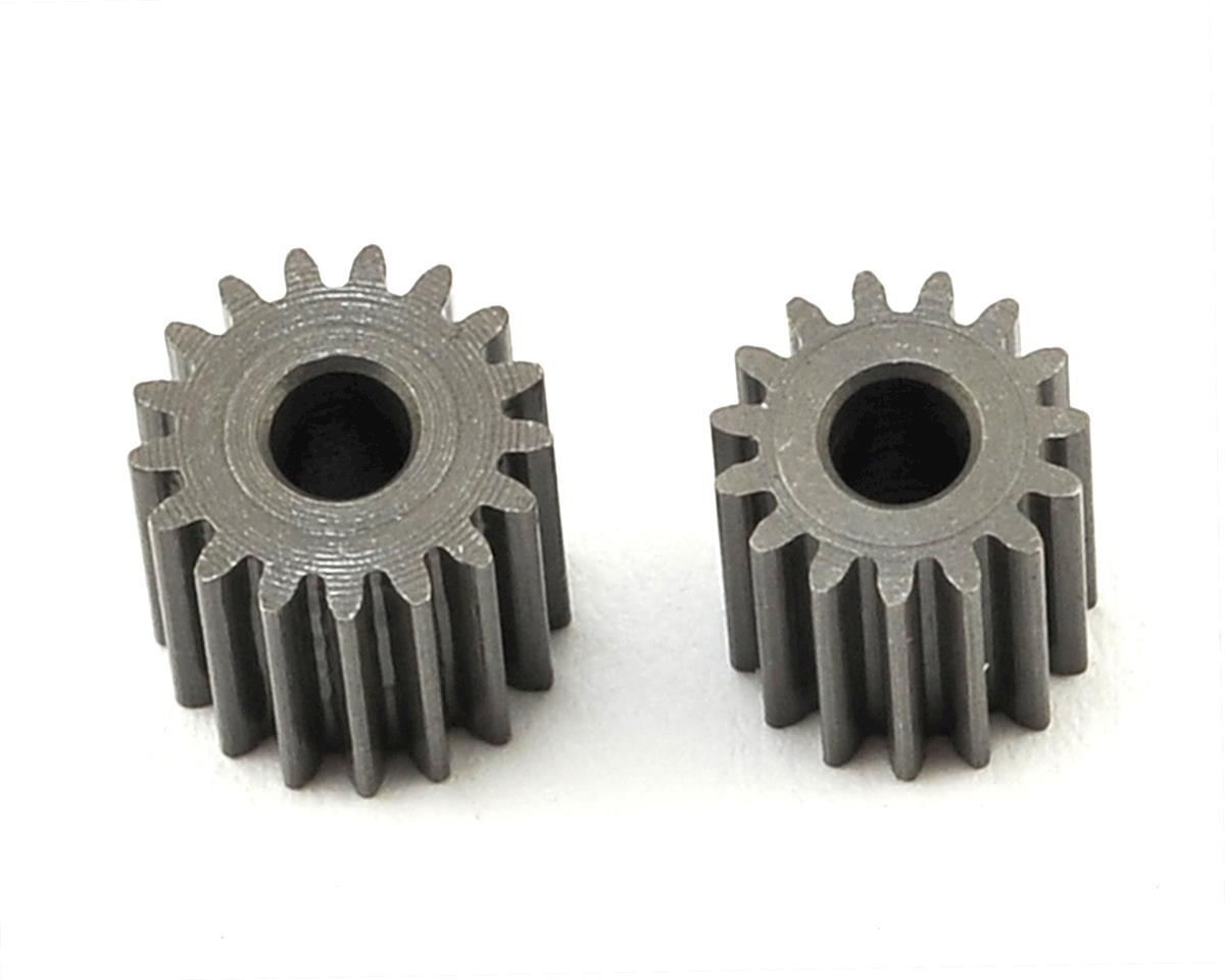 OXY Heli Straight Pinion Set (2.5mm Motor Shaft) (15,17T)