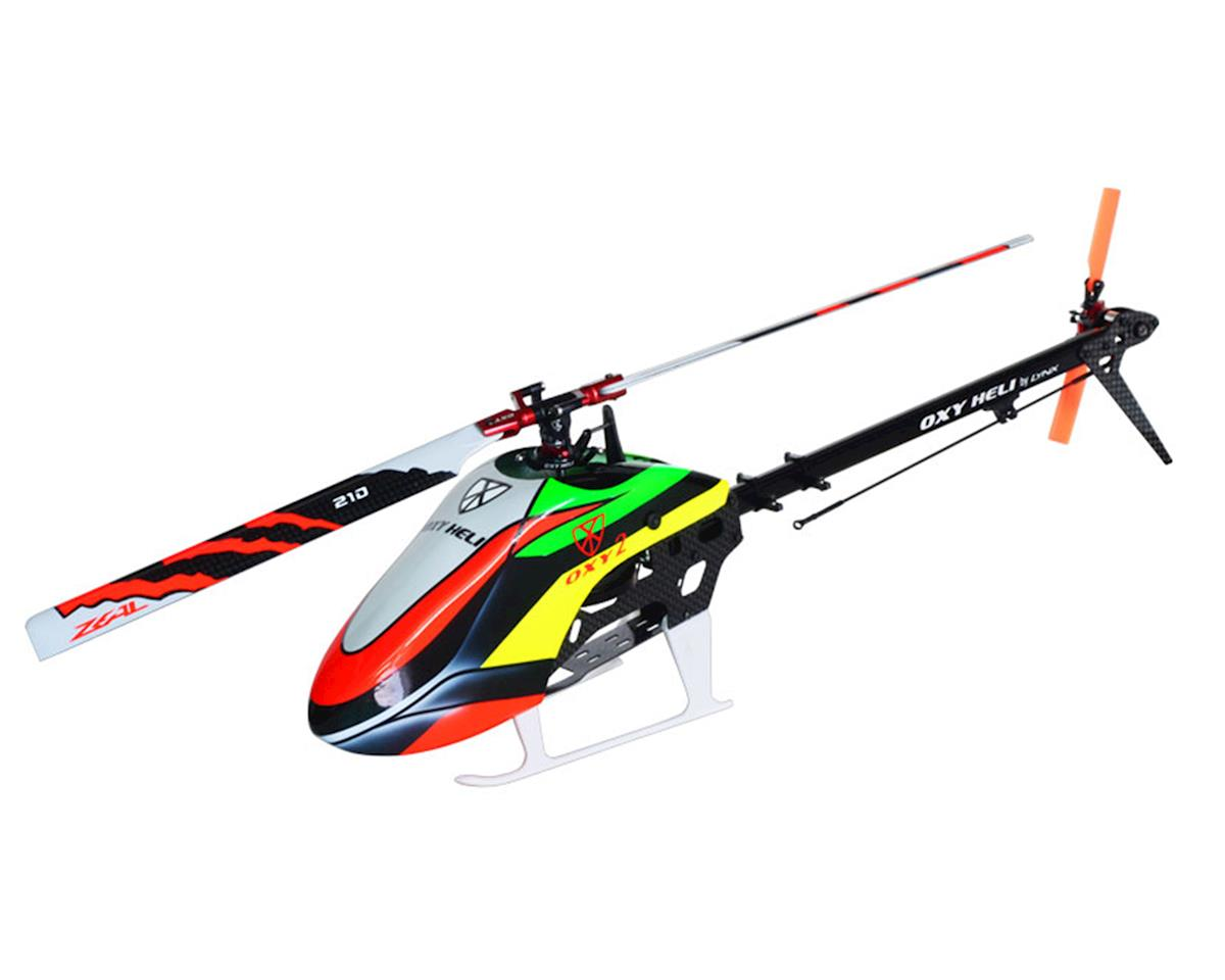Oxy 2 210 Factory Edition Electric Helicopter Kit by OXY Heli